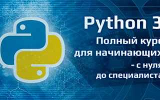 Обучение python онлайн