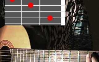 Видеоурок мелодии на гитаре