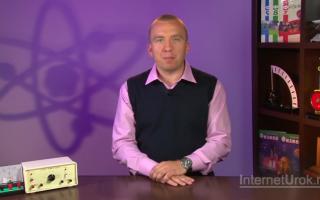 Видео электромагнитная индукция 11 класс