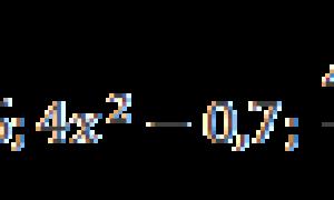 Равносильные уравнения видеоурок