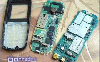 Видеокурсы по ремонту сотовых телефонов