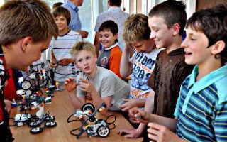 Формы обучения для кружка робототехники